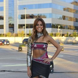 Lara Álvarez en la gala final de 'Supervivientes 2018'