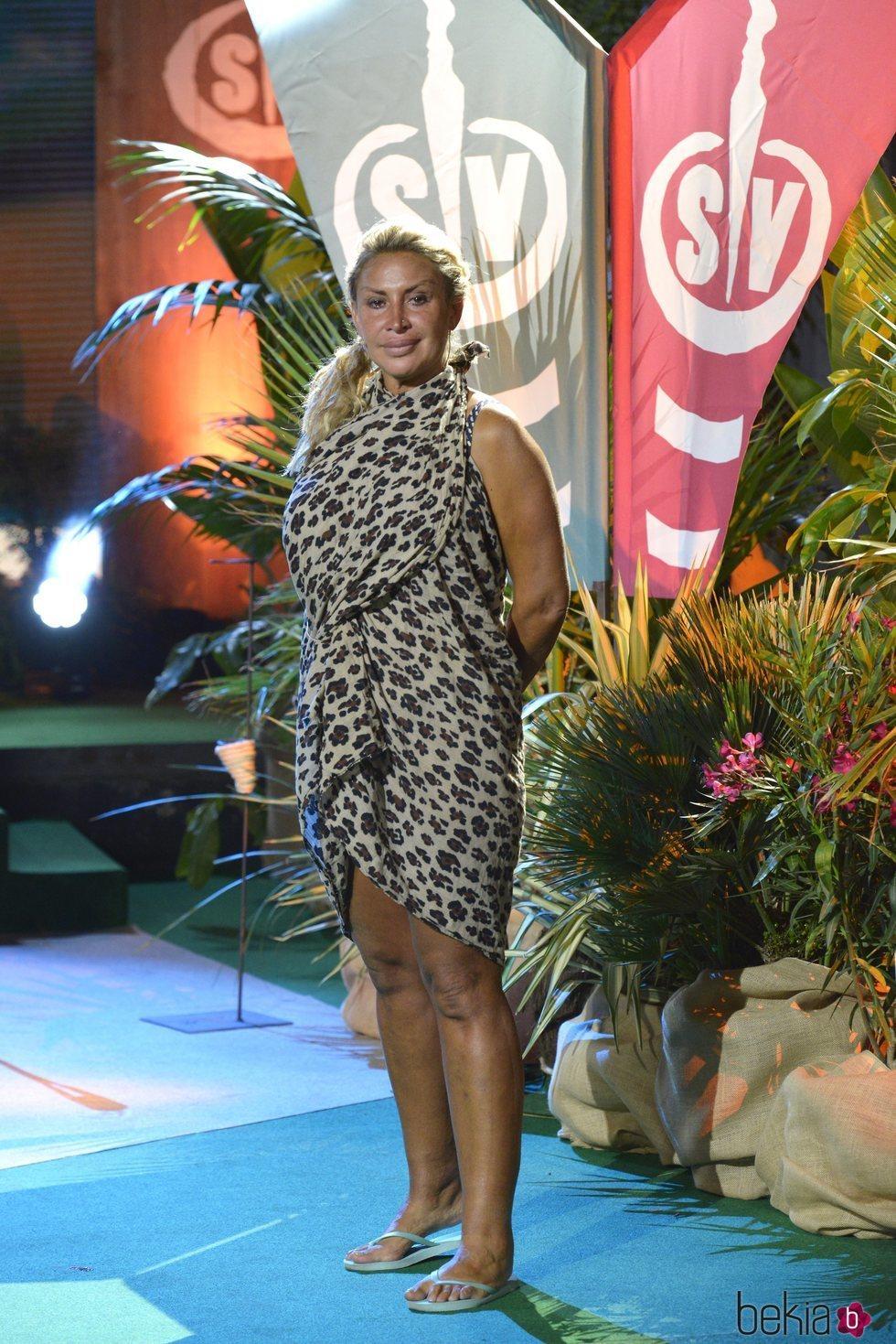 Raquel Mosquera durante la final de 'Supervivientes 2018'