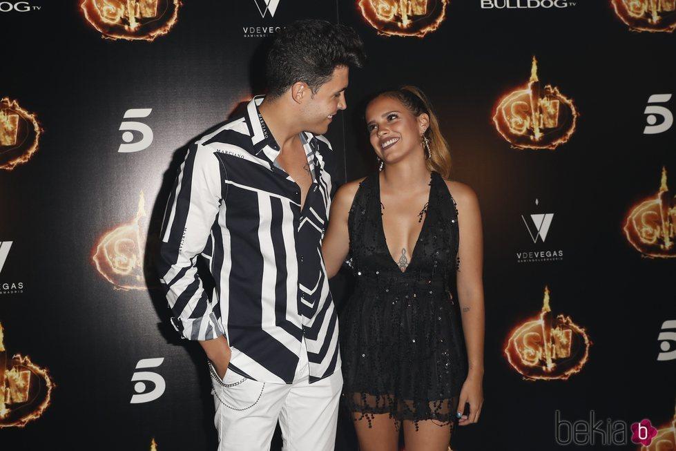Gloria Camila y Kiko Jiménez en la Fiesta Final de 'Supervivientes 2018'