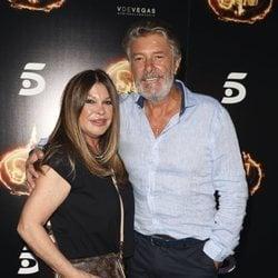 Francisco y su mujer, Paca Rives, en la Fiesta Final de 'Supervivientes 2018'