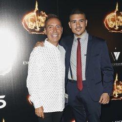 Maestro Joao y Luismi en la Fiesta FInal de 'Supervivientes 2018'