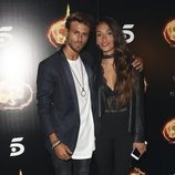 Sergio Carvajal y su novia, Natalia García, en la Fiesta Final de 'Supervivientes 2018'