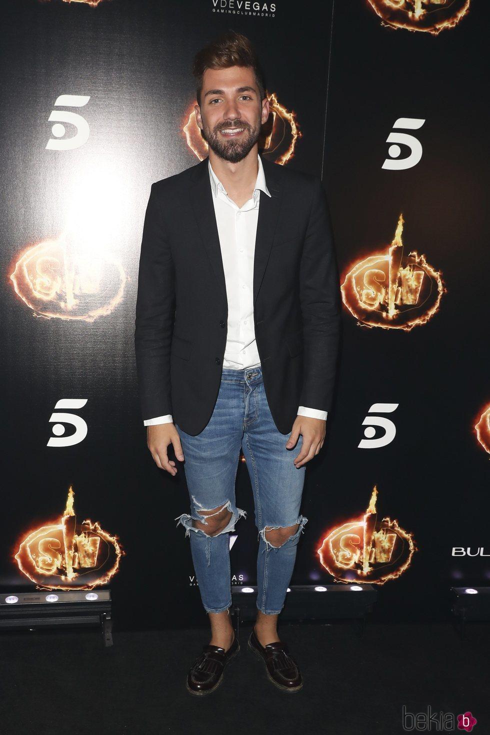 Alejandro Albaá en la Fiesta Final de 'Supervivientes 2018'
