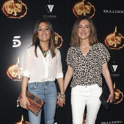 Nagore Robles y Sandra Barneda en la Fiesta Final de 'Supervivientes 2018'