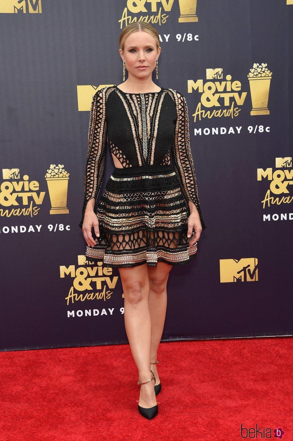 Kristen Bell en los MTV Movie & TV Awards 2018