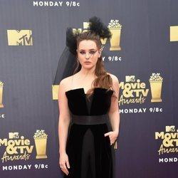 Katherine Langford en los Premios MTV de cine y televisión de 2018