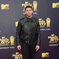 Nick Jonas en los MTV Movie & TV Awards 2018