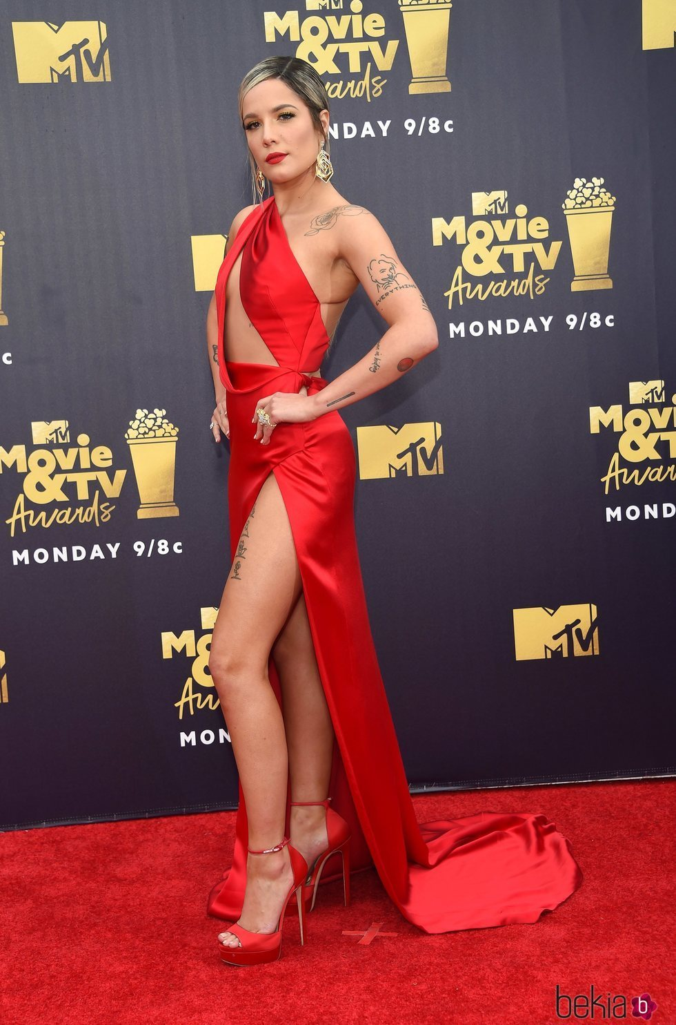 Halsey en los MTV Movie & TV Awards 2018