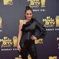 Francia Raisa en los premios MTV de cine y televisión de 2018