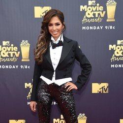 Farrah Abraham en la alfombra roja de los MTV Movie & TV Awards 2018