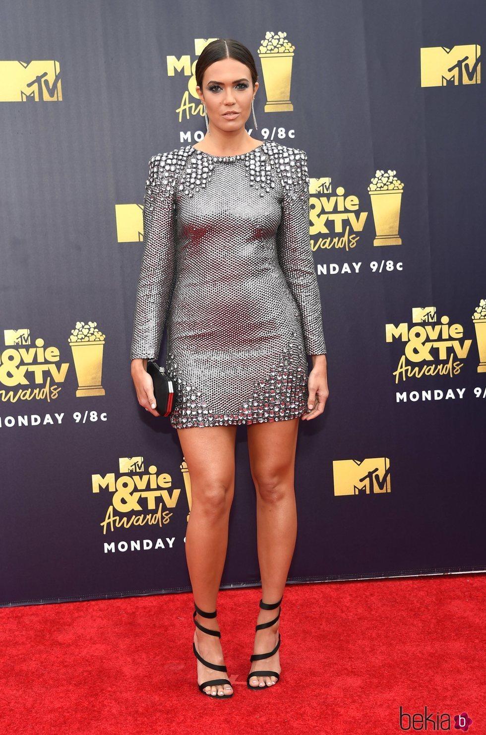 Mandy Moore en los MTV Movie & TV Awards de 2018
