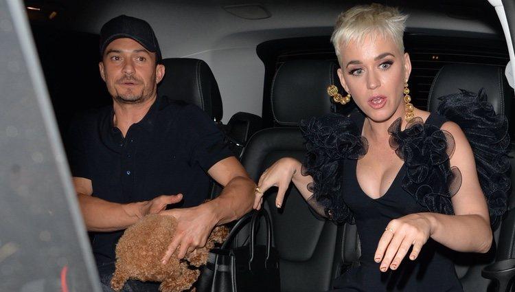 Katy Perry y Orlando Bloom disfrutando de Londres