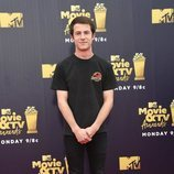 Dylan Minnette en los MTV Movie & TV Awards 2018