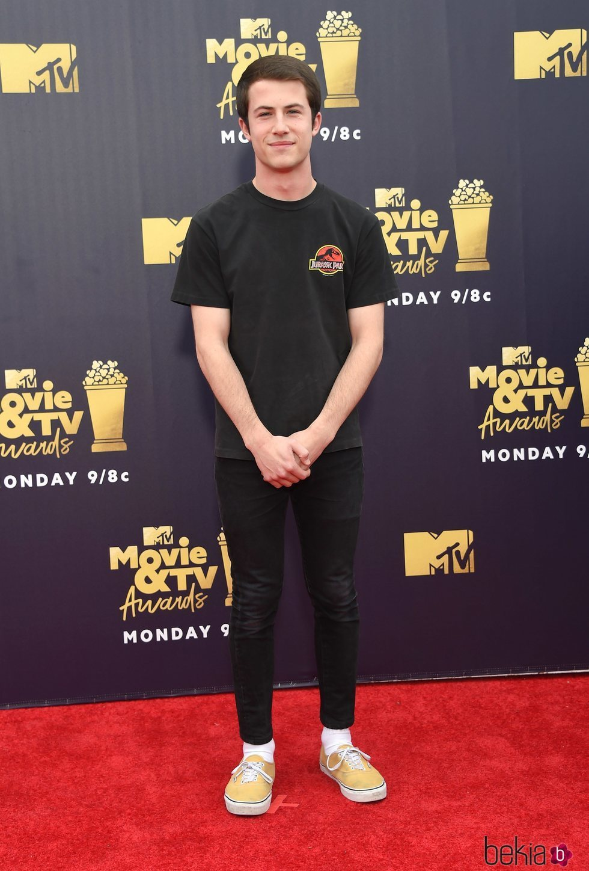 Dylan Minnette en los MTV Movie & TV Awards 2018