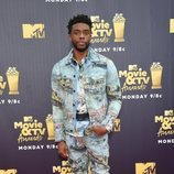 Chadwick Boseman en los premios MTV de cine y televisión de 2018