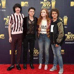 Elenco de 'Stranger Things' en los MTV Movie & TV Awards 2018