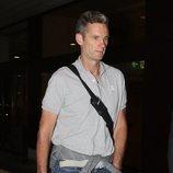 Iñaki Urdangarin en el aeropuerto antes de su entrada en prisión