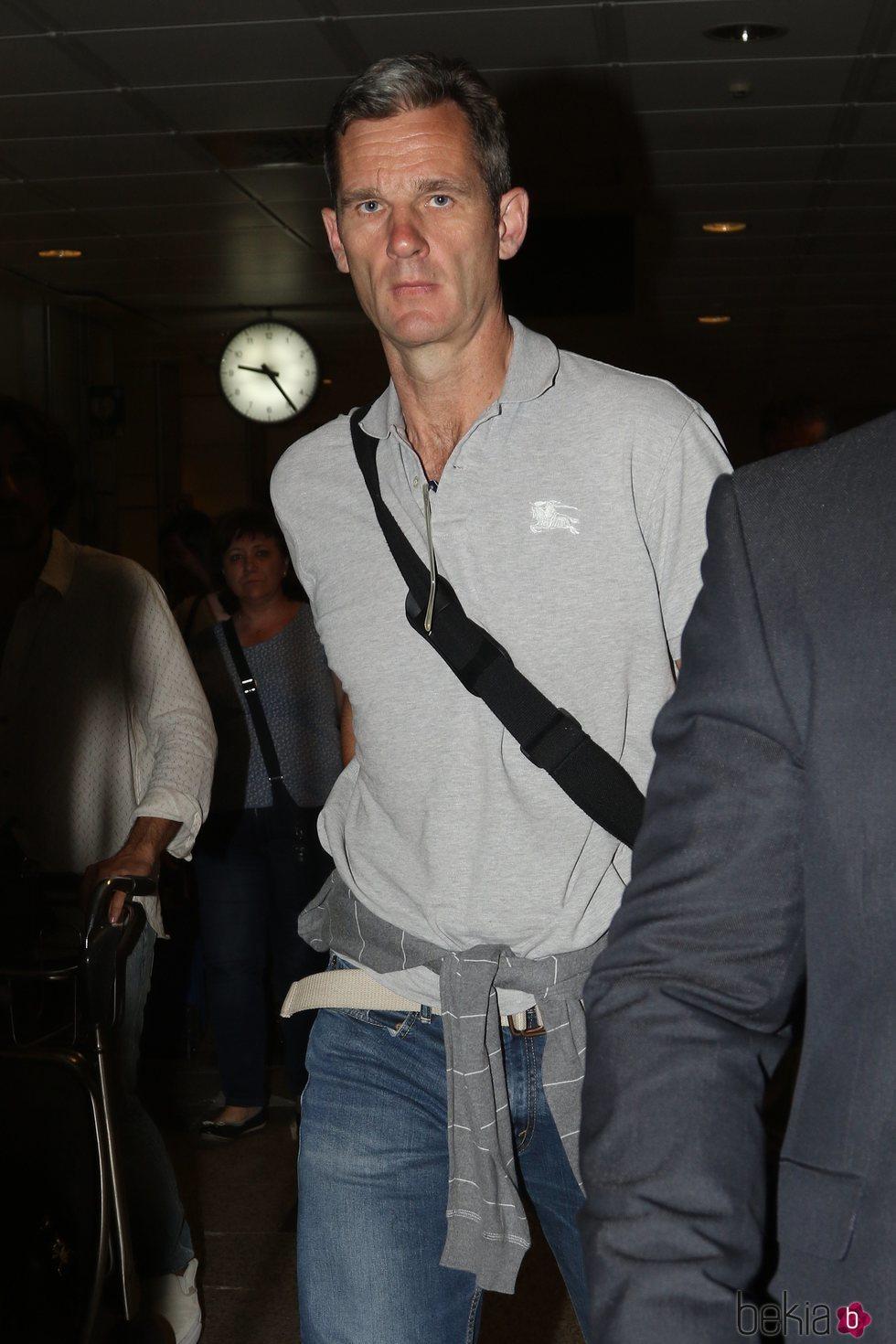 Iñaki Urdangarin antes de entrar en prisión
