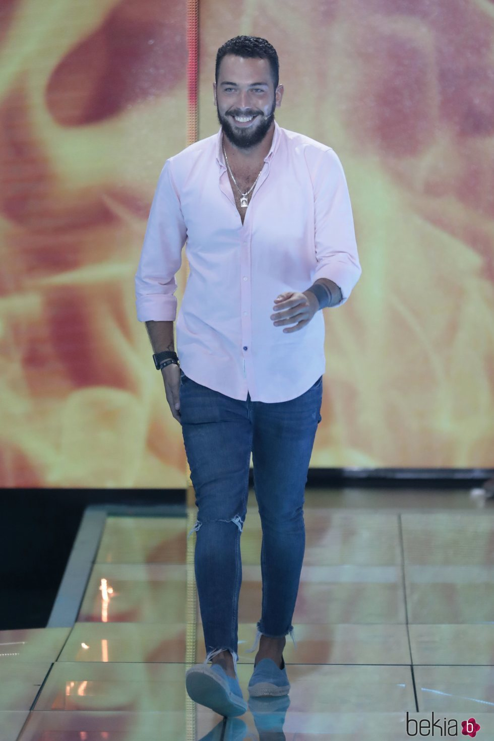 Alberto Isla en el Debate Final de 'Supervivientes 2018'