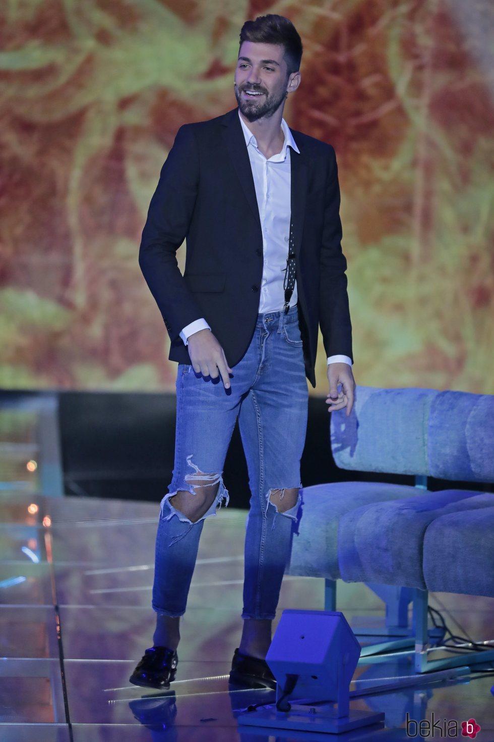 Alejandro Albalá durante el Debate Final de 'Supervivientes 2018'