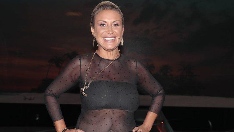 Raquel Mosquera en el Debate Final  de 'Supervivientes 2018'