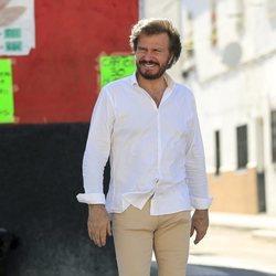 Bigote Arrocet acude a comprar un regalo para María Teresa Campos