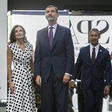 Los Reyes Felipe y Letizia en su visita al Museo de Arte de San Antonio