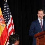El Rey Felipe en la conferencia 'Líderes hispanos en Estados Unidos'