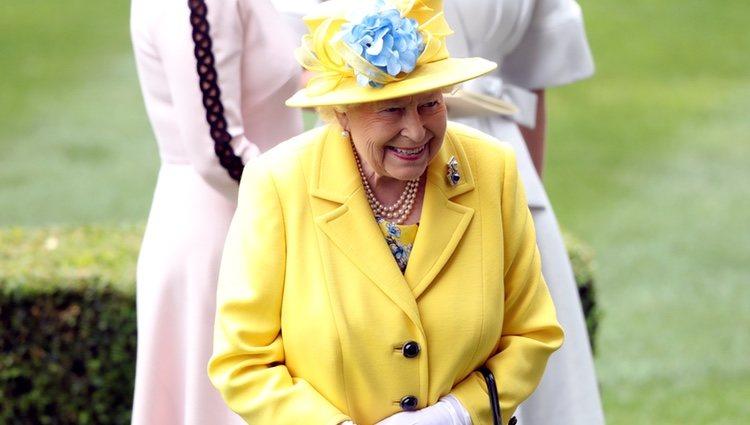 La Reina Isabel en Ascot 2018