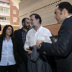 Mariano Rajoy regresa a su trabajo como registrador