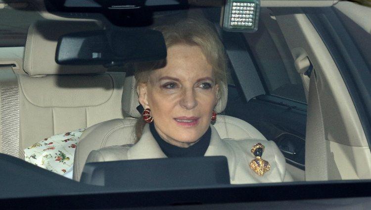 La Princesa Michael de Kent acude al almuerzo de Navidad 2017 en Buckingham Palace