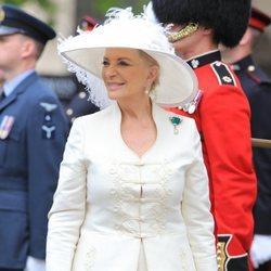 La Princesa Michael de Kent acude a una misa por el 90 cumpleaños de la Reina Isabel II