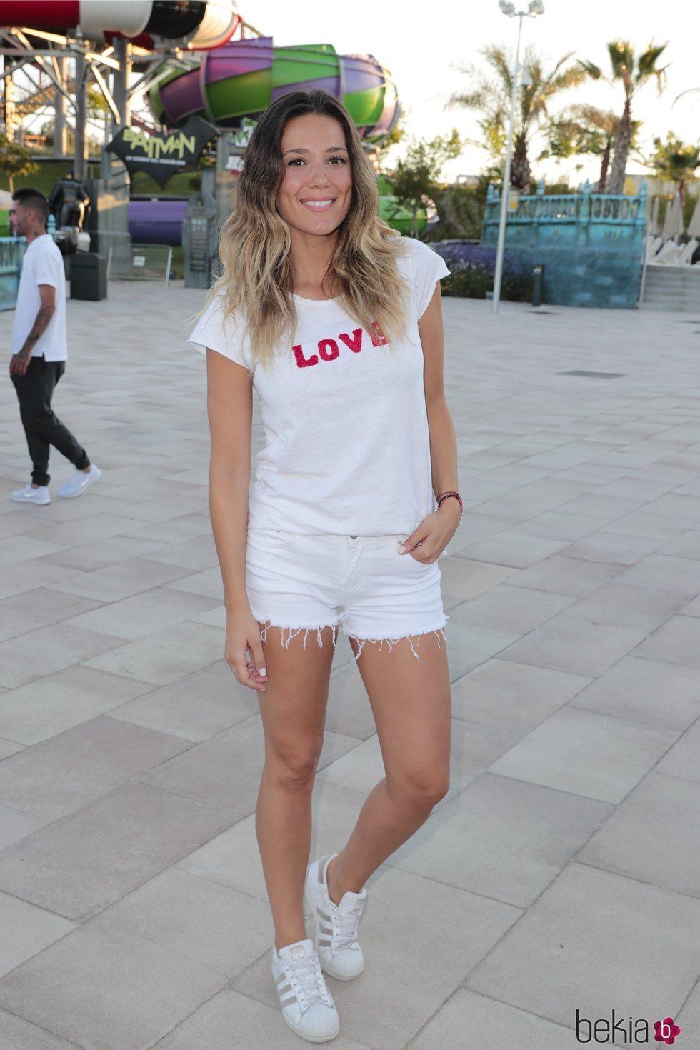 Lorena Gómez en Summer Party 2018 del Parque Warner de Madrid