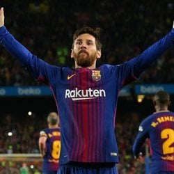 Leo Messi contra el Real Madrid