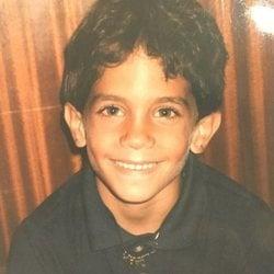 Marc Bartra de pequeño