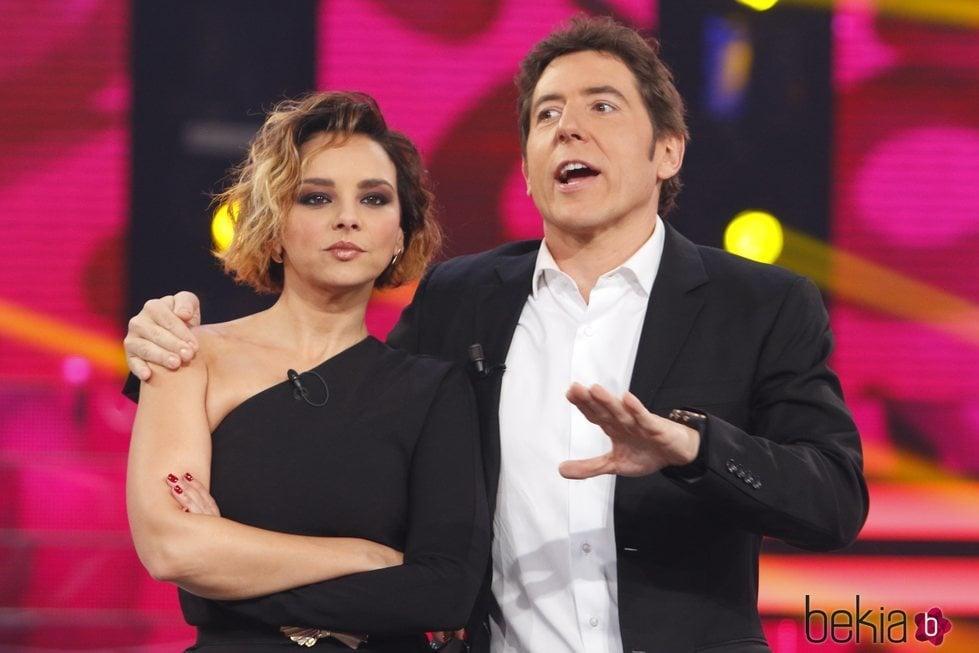 Chenoa y Manel Fuentes en 'Tu cara me suena 5'