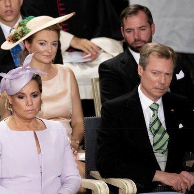 Los Grandes Duques de Luxemburgo y Guillermo y Estefanía de Luxemburgo en el Día Nacional de Luxemburgo 2018