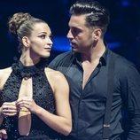 Las miradas cómplices de David Bustamante y Yana Olina en 'Bailando con las estrellas'