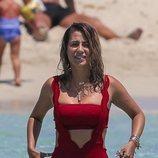 Elena Tablada luciendo cuerpazo en Ibiza