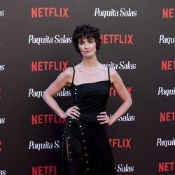 Paz Vega en la premiere de la segunda temporada de 'Paquita Salas'