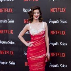 Lidia San José en la premiere de la segunda temporada de 'Paquita Salas'