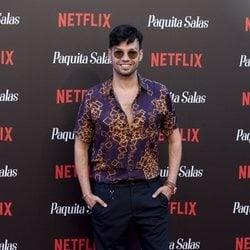 Paco Arrojo en la premiere de la segunda temporada de 'Paquita Salas'