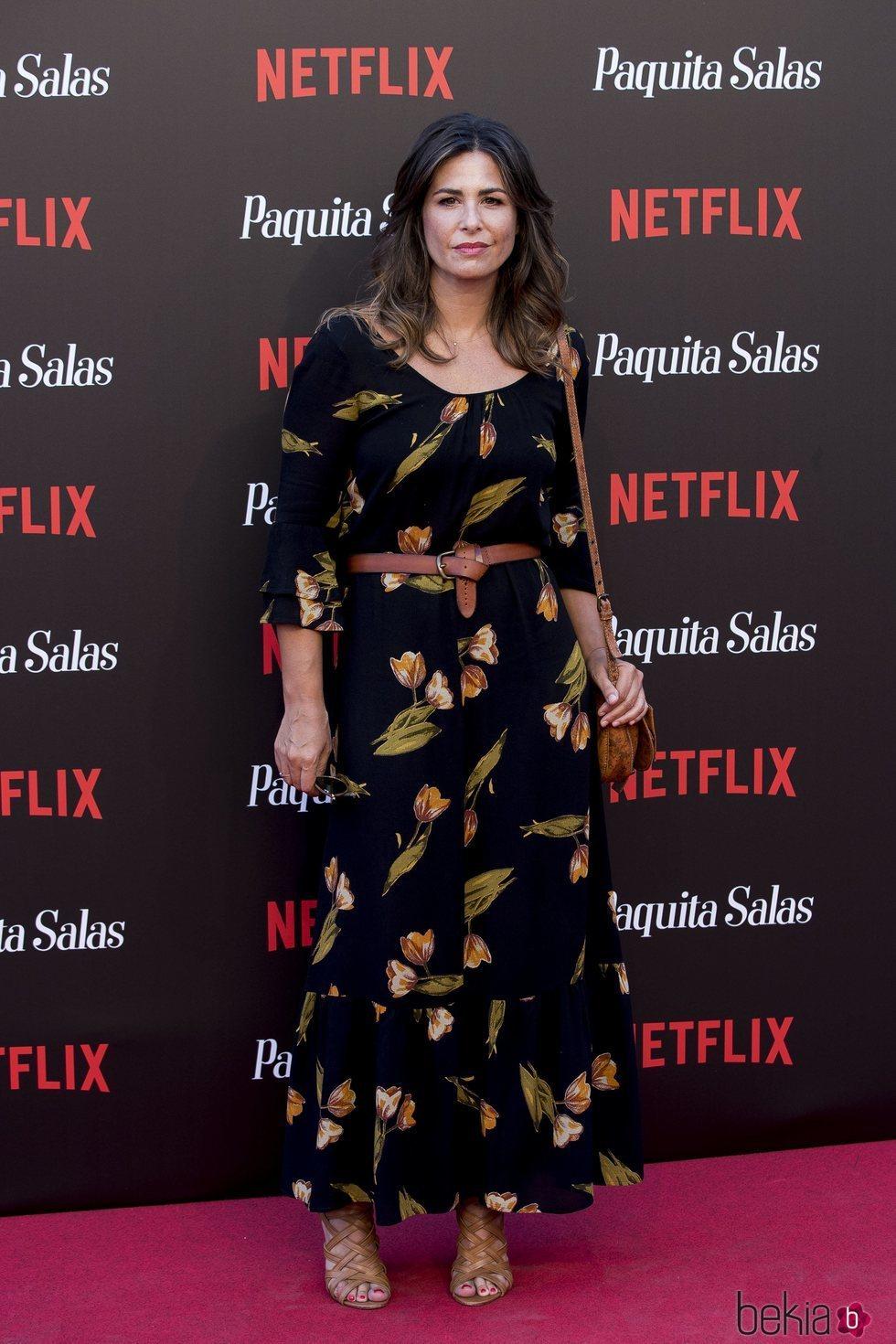 Nuria Roca en la premiere de la segunda temporada de 'Paquita Salas'