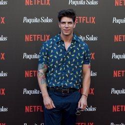 Diego Matamoros en la premiere de la segunda temporada de 'Paquita Salas'