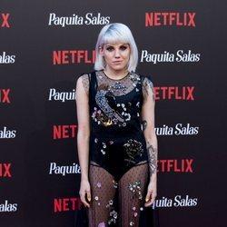 Angy Fernández en la premiere de la segunda temporada de 'Paquita Salas'