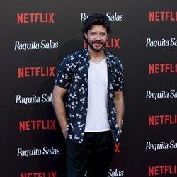 Álvaro Morte en la premiere de la segunda temporada de 'Paquita Salas'