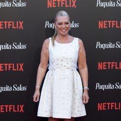 Belén Esteban en la premiere de la segunda temporada de 'Paquita Salas'