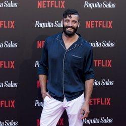Álex García en la premiere de la segunda temporada de 'Paquita Salas'