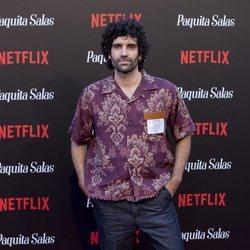 Tomar Navas en la premiere de la segunda temporada de 'Paquita Salas'