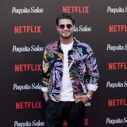 Maxi Iglesias en la premiere de la segunda temporada de 'Paquita Salas'